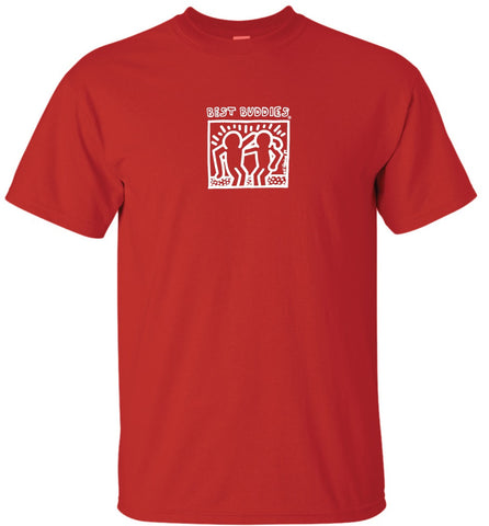KIDS White Haring Tee (Red)