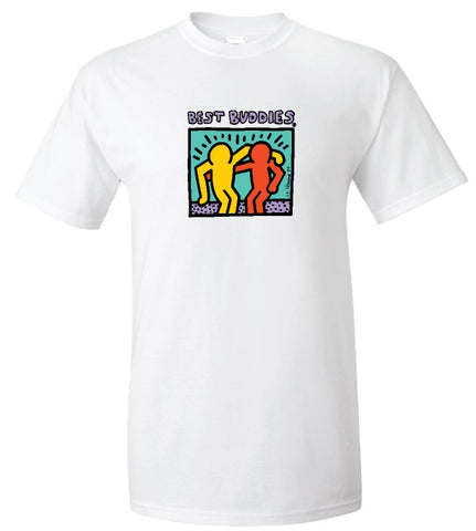 NEW Updated Traditional Haring Tee (White)