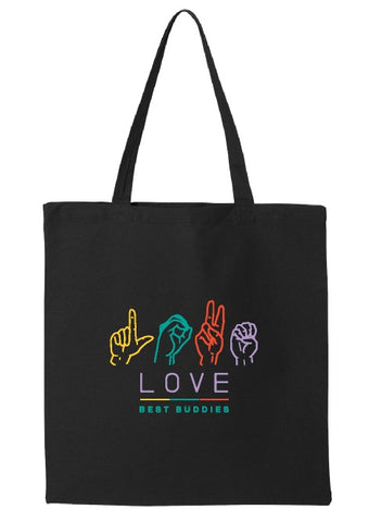 LOVE Tote (Black)