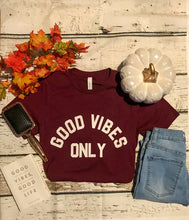 Load image into Gallery viewer, Burgundy Tee
