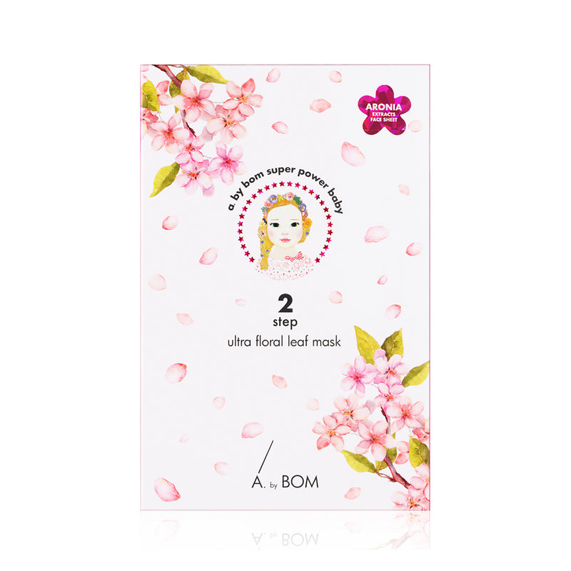 Ultra Floral Leaf Mask (2 Step) - A By Bom - Soko Box