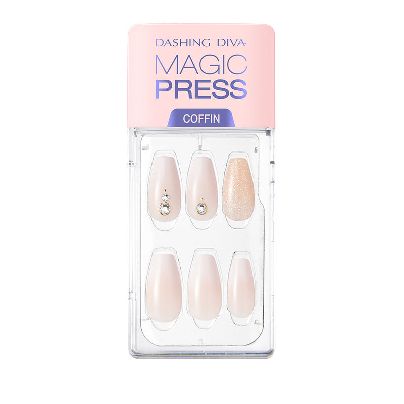 Magic Gel Press Manicure: MDR719CF (Coffin-Super Slim Fit)