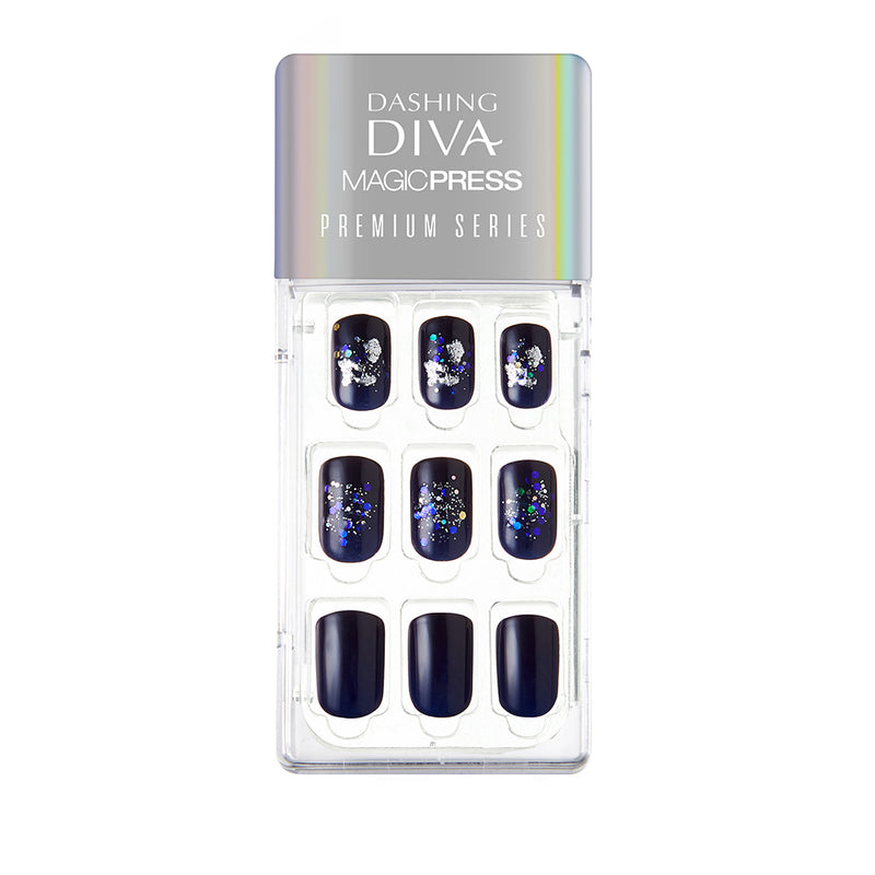 Magic Gel Press Manicure Premium Series: MGP026 (Regular Fit) - Dashing Diva - Soko Box