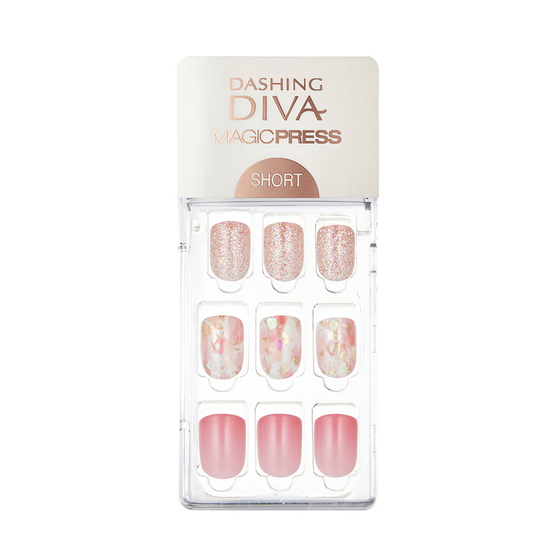 Magic Gel Press Manicure: MDR450SS (Short-Super Slim Fit) - Dashing Diva - Soko Box