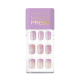 Magic Gel Press Manicure: MDR602 (Square-Super Slim Fit) - Dashing Diva - Soko Box