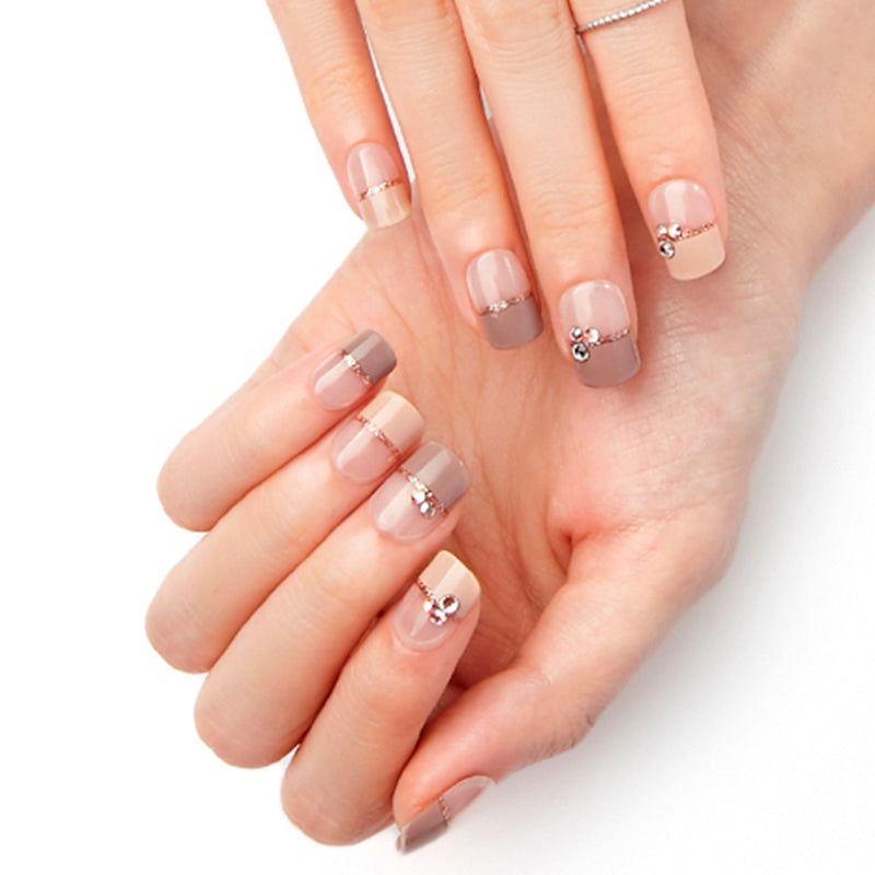 Magic Gel Press Manicure: MDR584 (Square-Super Slim Fit)