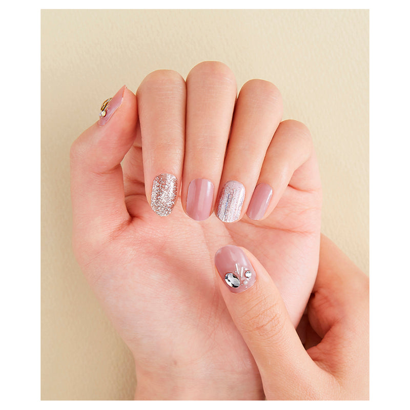 Big Stone Gloss Gel Nail Strip: GVP114B - Dashing Diva - Soko Box