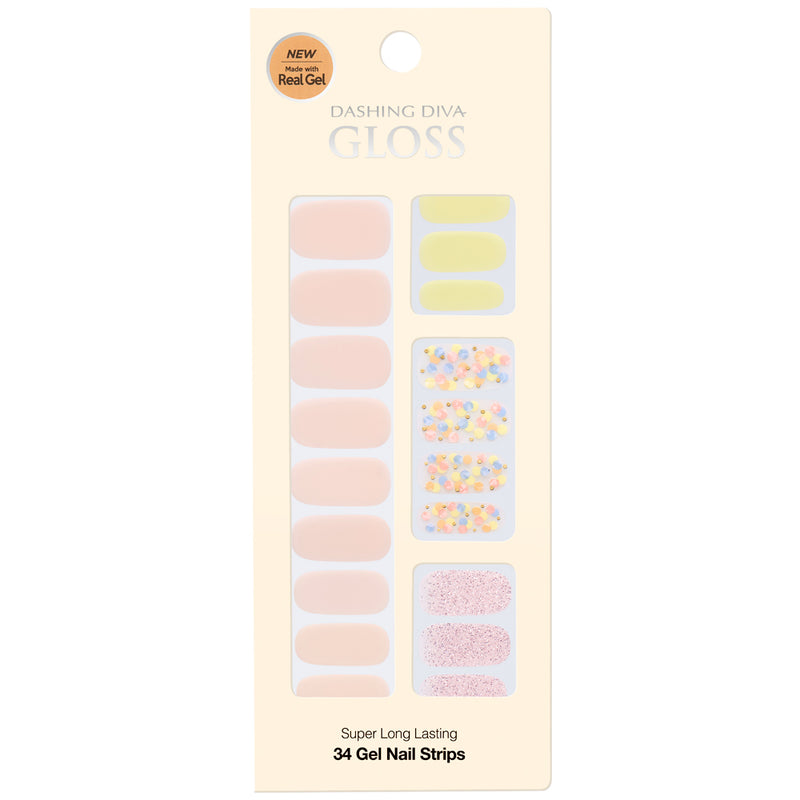 Gloss Gel Nail Strip: GVP191 - Dashing Diva - Soko Box
