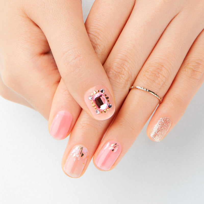 Big Stone Gloss Gel Nail Strip: GVP49B