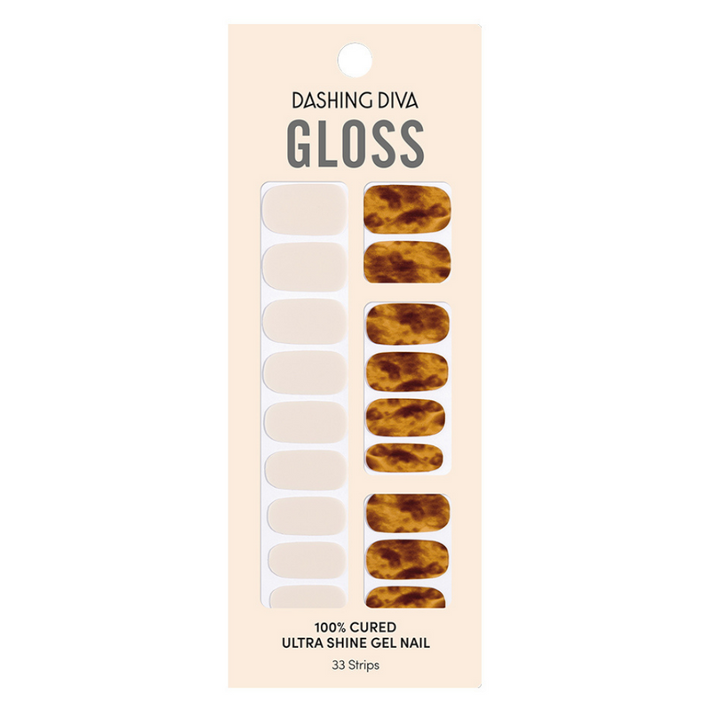 Gloss Gel Nail Strip: GVP308