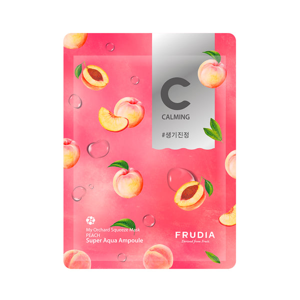 Squeeze Mask Peach - Frudia - Soko Box