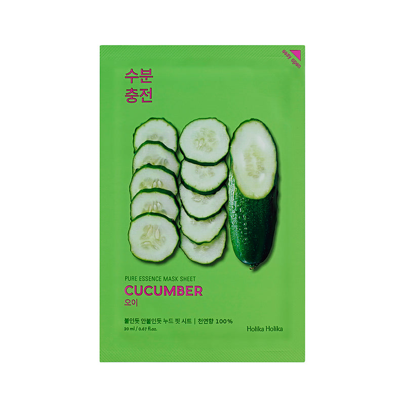 Cucumber Mask Sheet - Holika Holika - Soko Box