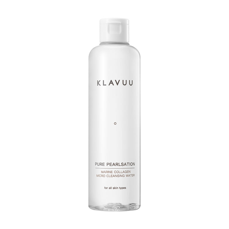 Pure Pearlsation Marine Collagen Micro Cleansing Water - Klavuu - Soko Box
