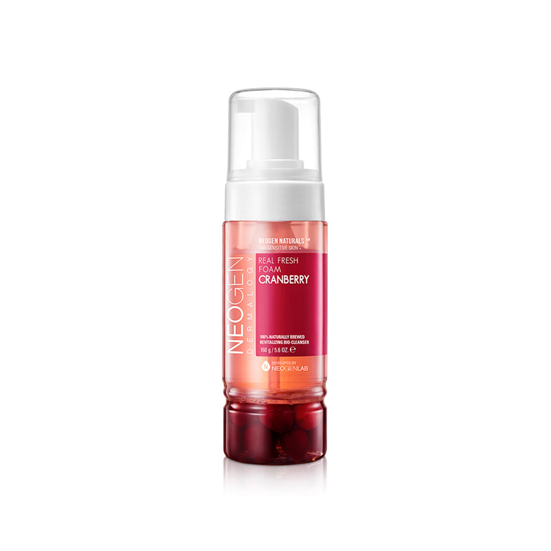Real Fresh Foam Cleanser Cranberry - Neogen - Soko Box