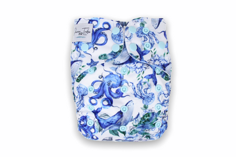 Deep Sea Dancing Junior Flex Cloth Nappy