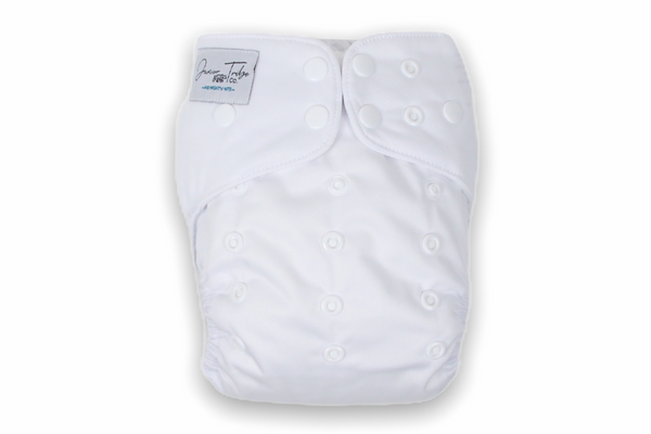 Polar White Junior Flex Cloth Nappy