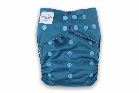 London Blue Junior Flex Cloth Nappy