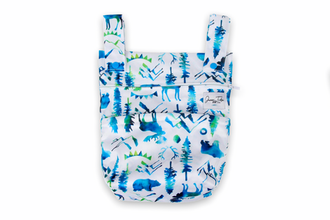 Wild Blue Mini Wet Bag
