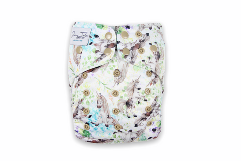 Unicorn Dreaming Junior Flex Cloth Nappy