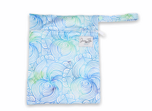Sea Swirl Petite Wet Bag
