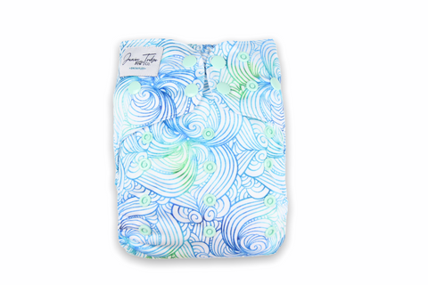 Sea Swirl Swim Nappy