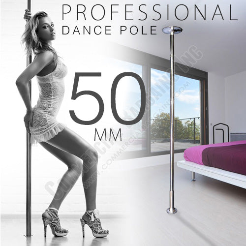 Xperience 50mm Dance Pole Kit Competition Commercial Portable Fitness Exercise