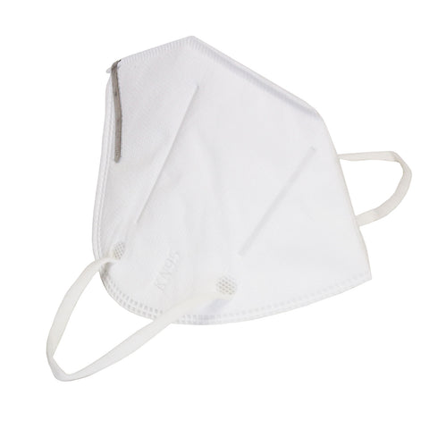 KN95 Disposable Medical Protective Folding Triangular Design Face Masks 10 Pack