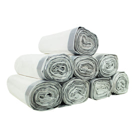 8 Rolls of Custom Fit Liner Trash Bags