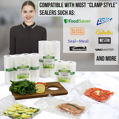 Clamp Style Vacuum Sealer Machine Compatible