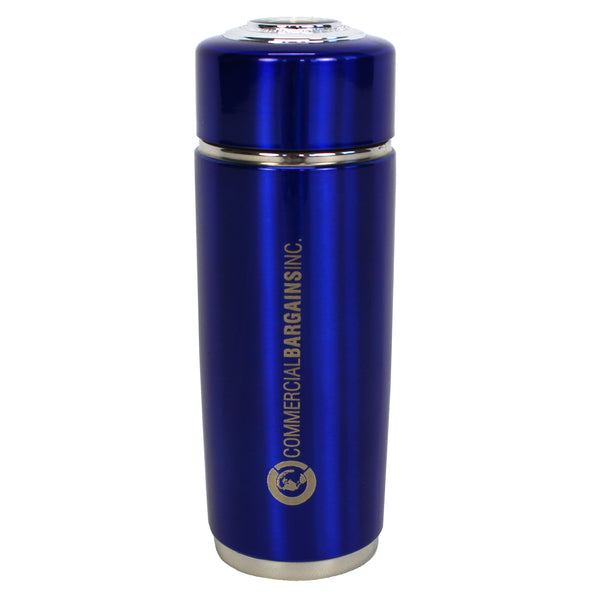 Blue Alkaline Energy Flask PH Ionizer Water Bottle With Case