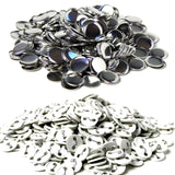 "1.50"" Plastic Button Maker Machine Badges - 500 Pack"
