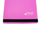 Pink Folding Incline Gymnastics Mat Training Foam Triangle Tumbling Wedge 121