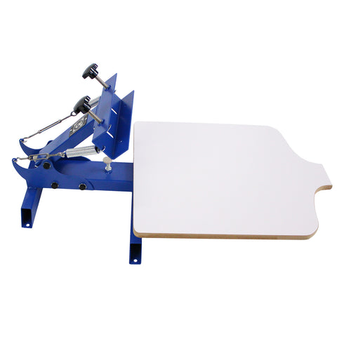 Simple Single 1 Color 1 Station T-shirt Silk Screen Printing Machine NS101