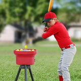 Trend Sports Heater Crusher Curve Pitching Machine Lite-Ball w/8hr Battery CR169