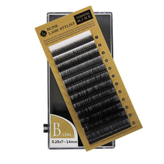 Eyelash Extension Blink Mink B 0.25 Curl 7mm-14mm Mixed Size Tray