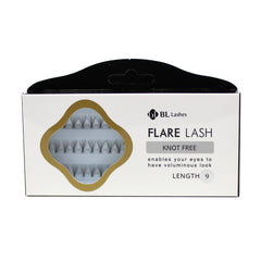 BL Lashes Flare Lash Knot Free Length 9 Cluster Lashes Eyelash Extension
