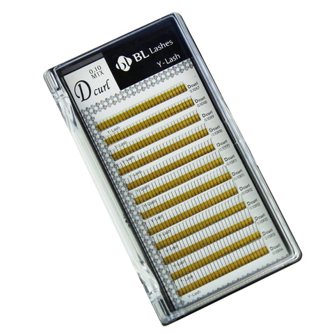 BL Blink Lashes Y-Lash D Curl 0.10 Thickness Mixed Length