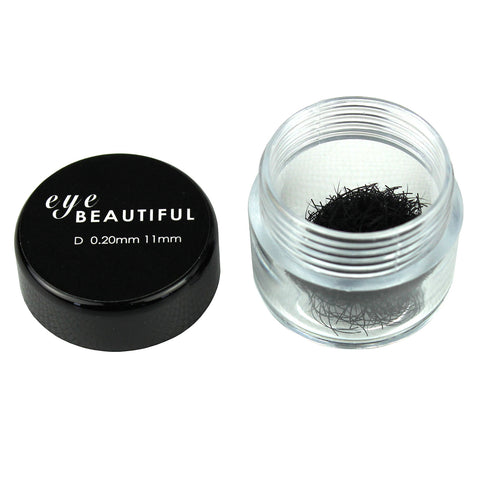 Premium MINK Individual Loose Lashes D Curl 10mm to 14mm Eyelash Extension 20MM