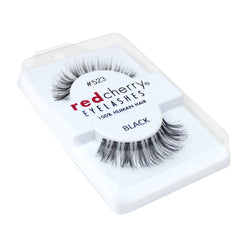 Red Cherry 100% Human Hair False Eye Lashes Fake Eye Lashes #523 Sage