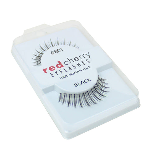 Red Cherry 100% Human Hair False Eye Lashes Fake Eye Lashes #601
