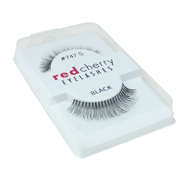 Red Cherry 100% Human Hair False Eye Lashes Fake Eye Lashes #747S Primrose