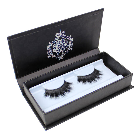 Eyebeautiful Natural  Mink Fur Strip False Eye Lashes #3011