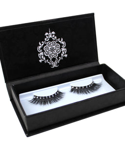 Eyebeautiful Natural Mink Fur Strip False Eye Lashes #40