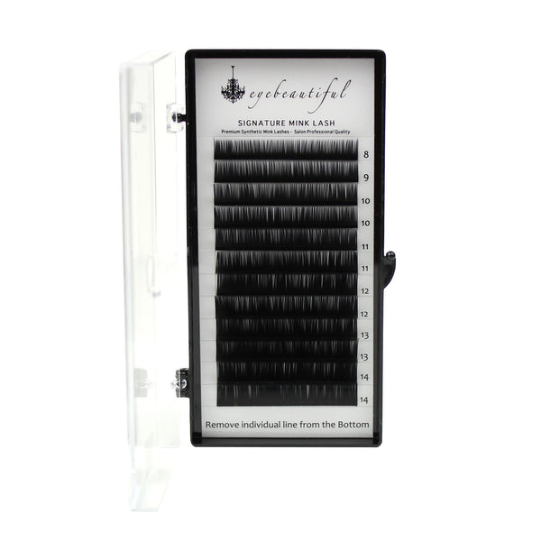 Eyebeautiful Premium MINK Individual Lashes .15mm Mixed J Curl Lash Extension