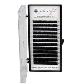 Eyebeautiful Premium MINK Individual Lashes .20mm Mixed C Curl Lash Extension