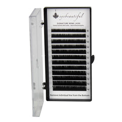 Eyebeautiful Premium MINK Individual Lashes .25mm Mixed C Curl Lash Extension