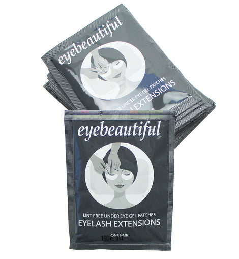 Eyelash Extension Under Eye Gel Pad Patches Mask By Eyebeautiful 100 Pack