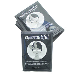 Eyelash Extension Under Eye Gel Lint Free Pad Patches Mask 25 pairs
