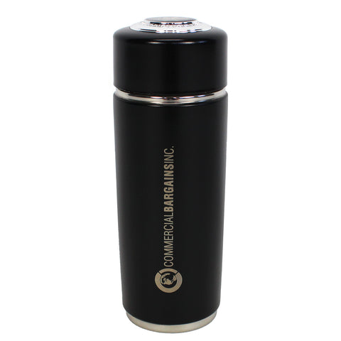 Black Alkaline Energy Flask Ionizer Water Bottle With Case