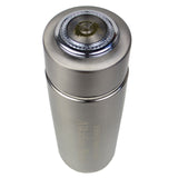 2 Silver Alkaline Energy Flask Ionizer Water Bottles With Cases